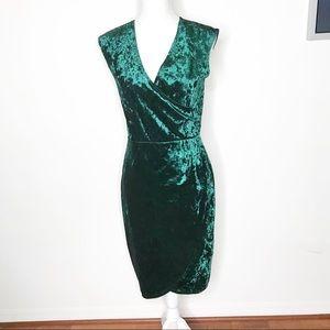 WRAPPER   Velvet Dress